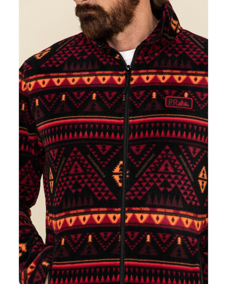 Powder River Outfitters Men's Black Printed Fleece Zip-Up Sweatshirt , , hi-res