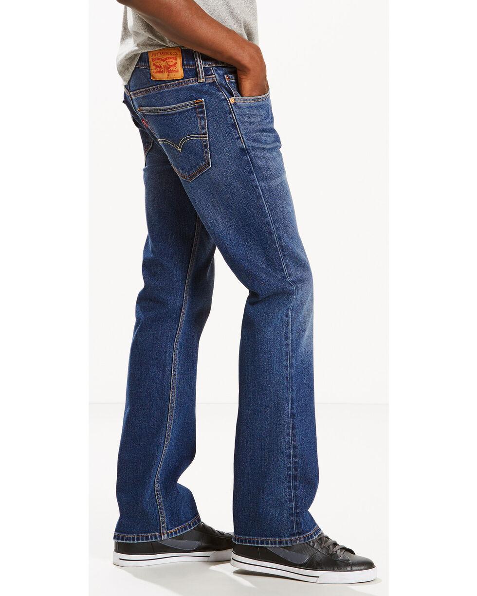 Levi's Men's 527 Slim Fit Jeans - Boot Cut , Indigo, hi-res