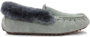 Lamo Footwear Women's Aussie Mocs, Charcoal Grey, hi-res