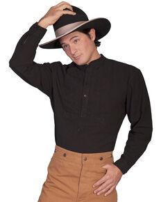 Rangewear by Scully Inset Paisley Bib Frontier Shirt, Black, hi-res