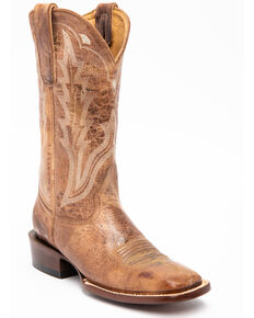 Idyllwind Women's Outlaw Western Boots - Square Toe, Taupe, hi-res