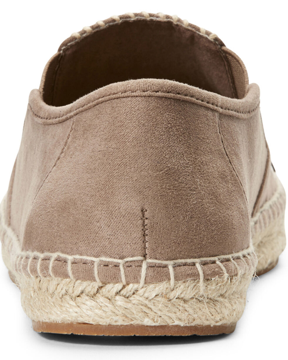Ariat Women's Unbridled Joy Taupe Slip-On Shoes, Taupe, hi-res