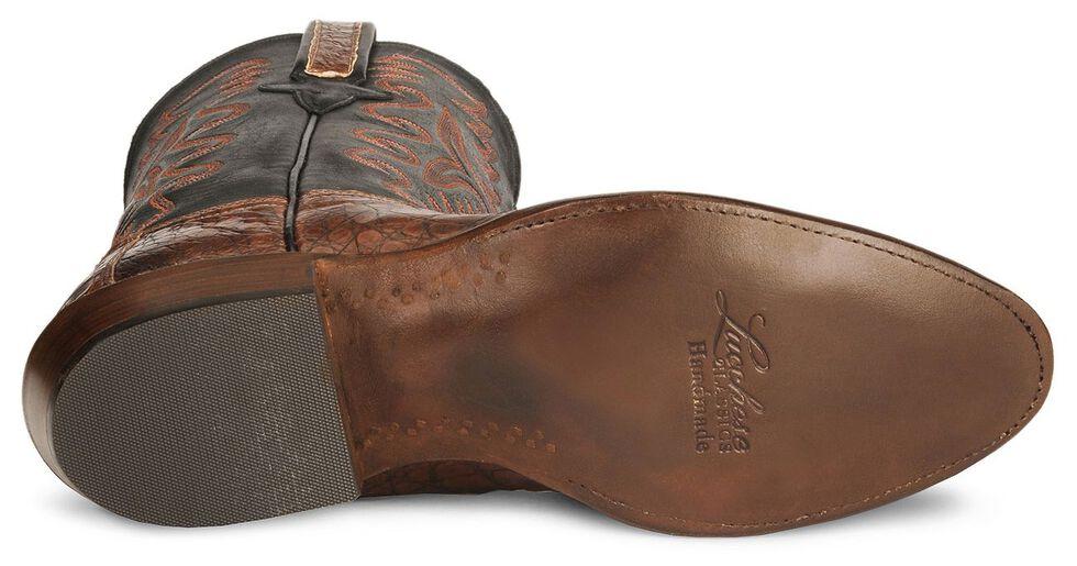 Lucchese Handmade Classics Caiman Ultra Belly Cowboy Boots - Medium Toe, Rust, hi-res