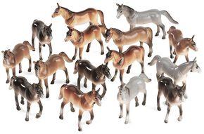 Bigtime Barnyard Small Toy Horses, Multi, hi-res
