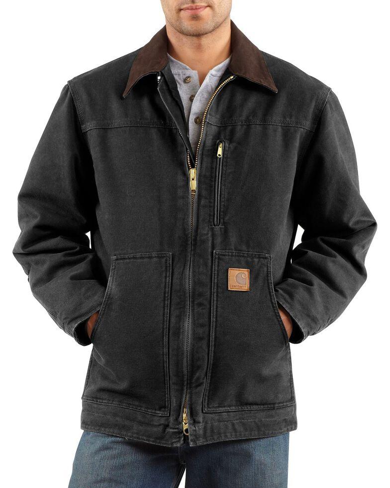 Carhartt Sandstone Ridge Work Coat, Black, hi-res