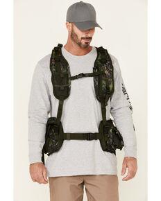 Nomad Men's Shadowleaf Mossy Oak Camo Print Pursuit Convertible Turkey Vest , Camouflage, hi-res