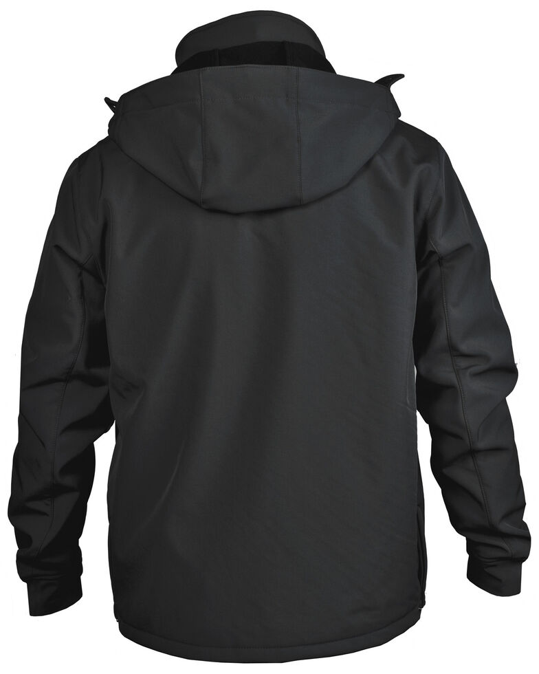STS Ranchwear Boys' Black Youth Barrier Softshell Jacket , Black, hi-res