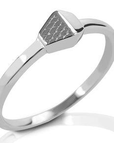 Kelly Herd Women's Horseshoe Nail Ring , Silver, hi-res