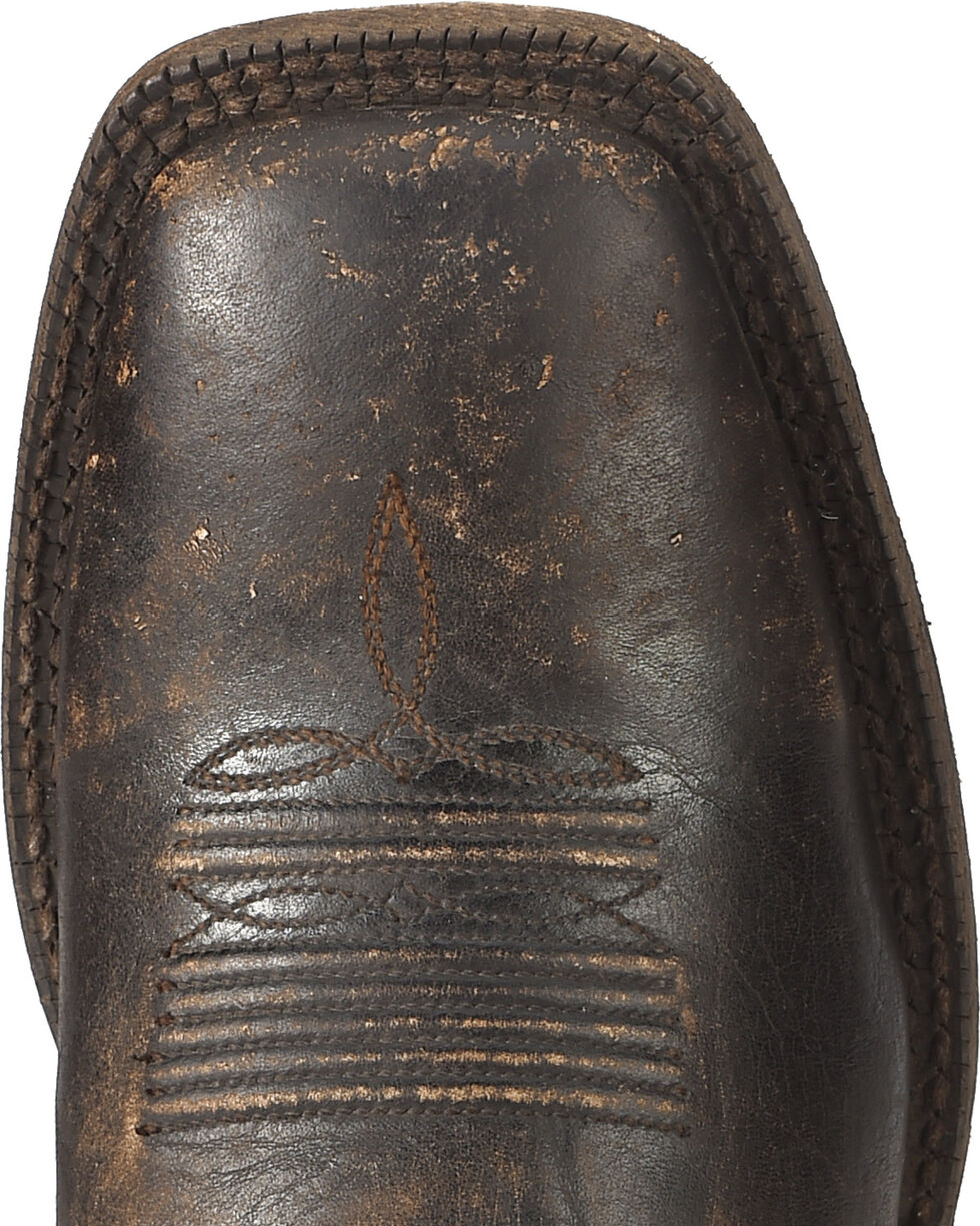 Ariat Men's Distressed Brown Circuit Dayworker Western Boots - Square Toe, , hi-res