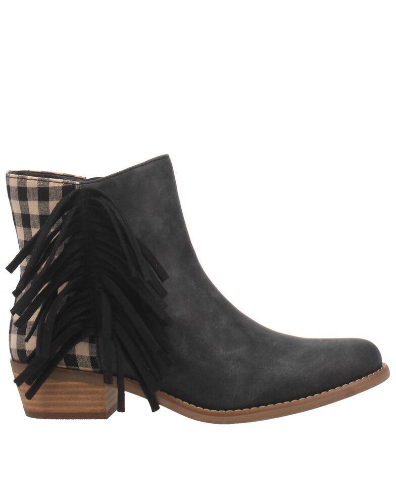 Code West Women's Low Key Fashion Booties - Round Toe, Black, hi-res