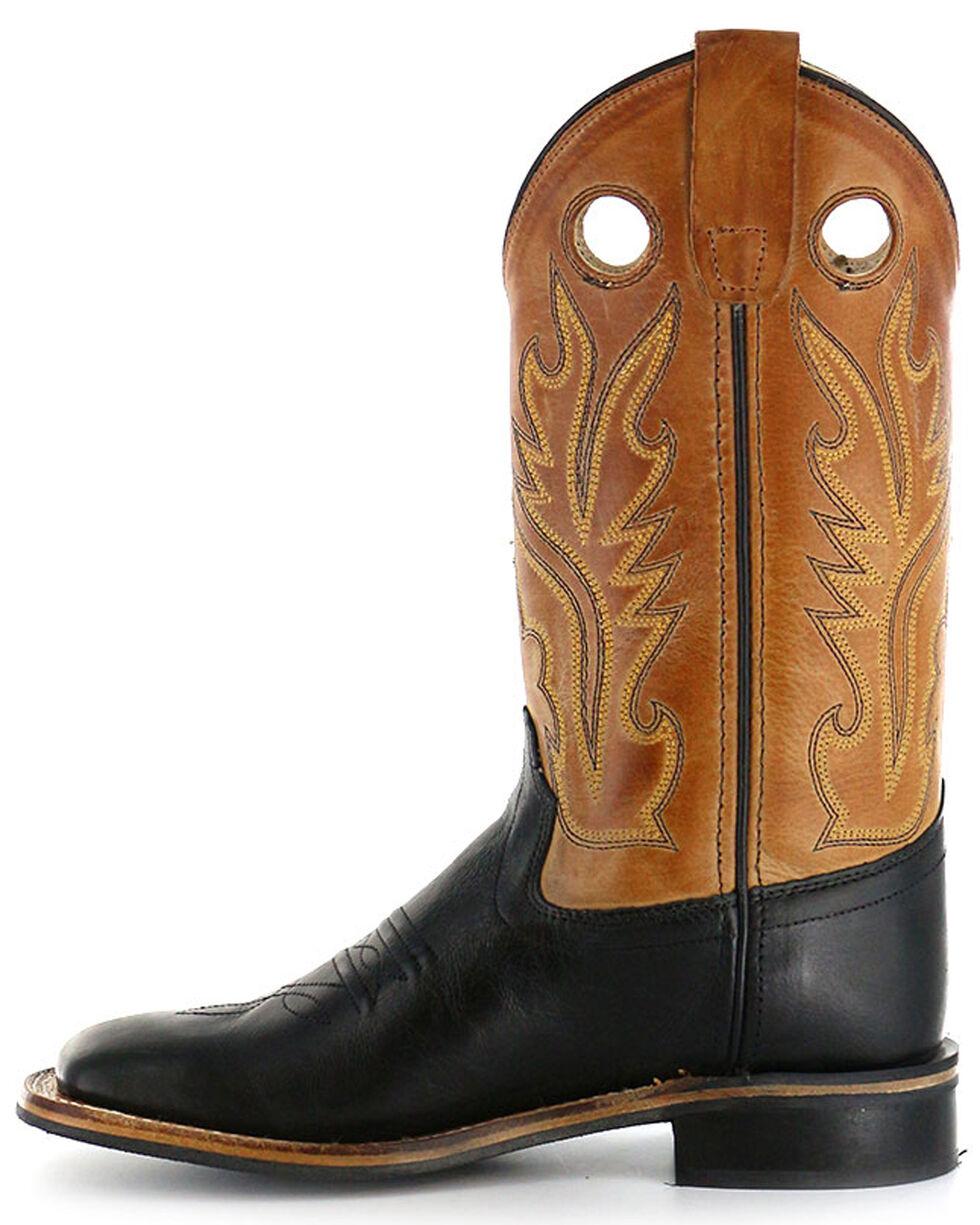 Cody James Boys' Black Canyon Tan Cowboy Boots - Square Toe, Black, hi-res
