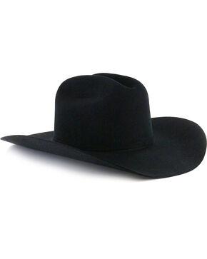 George Strait by Resistol Logan 6X Felt Cowboy Hat, Black, hi-res