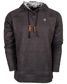 STS Ranchwear Men's Dark Grey Tuscon Hooded Sweatshirt , Dark Grey, hi-res
