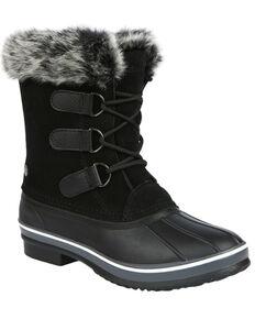 Northside Women's Katie Waterproof Winter Snow Boots - Round Toe, Red, hi-res