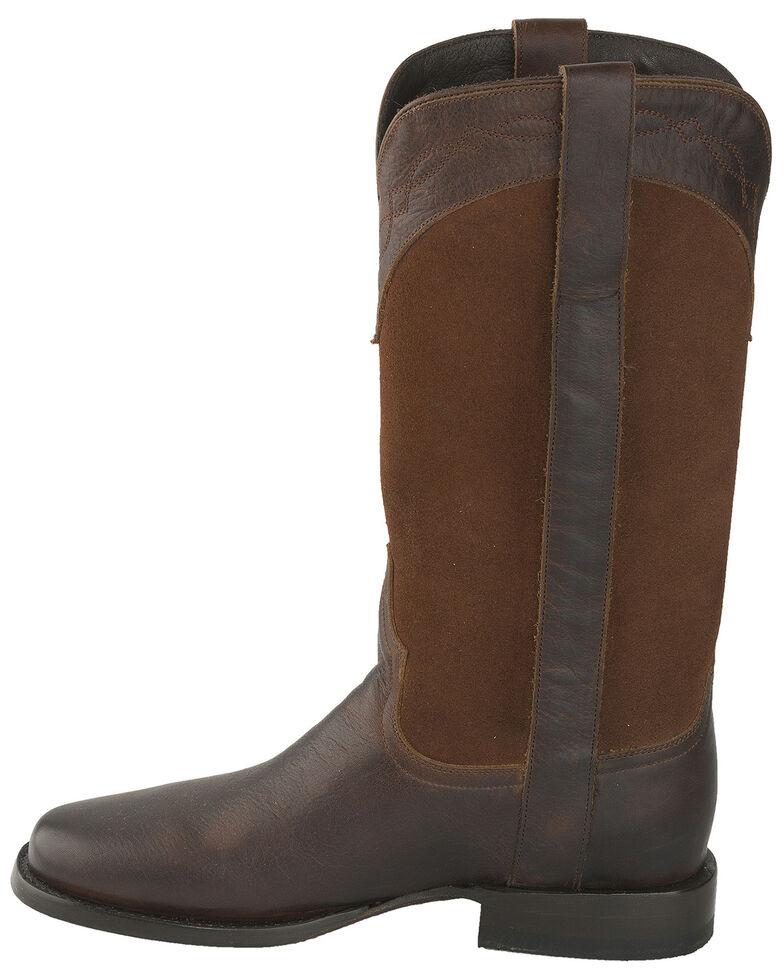 Lane Men's Rio Riata Western Boots - Round Toe, Cognac, hi-res
