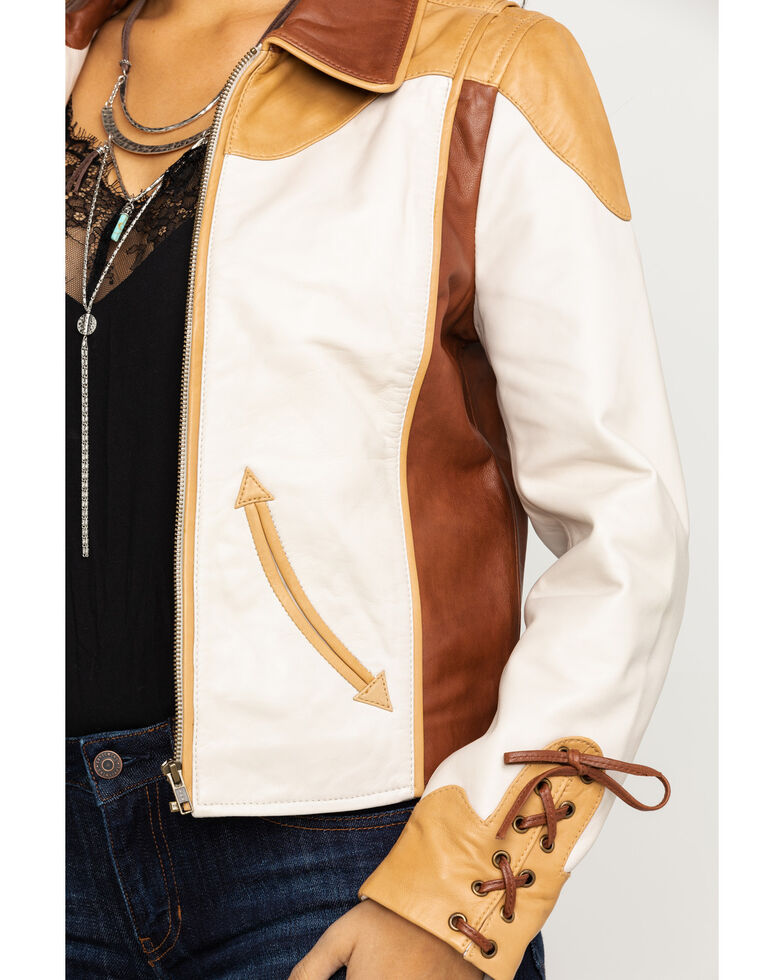 Idyllwind Women's Truly Western Jacket, Tan, hi-res