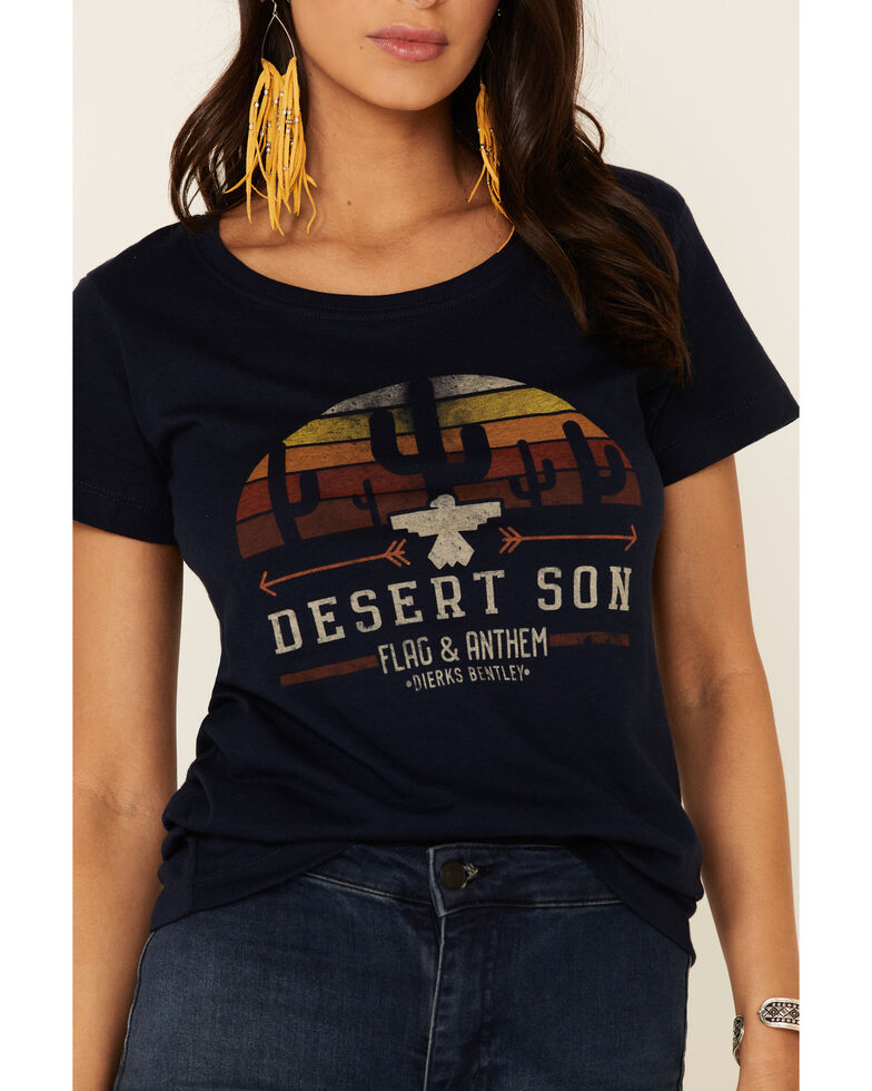 Flag & Anthem Women's Navy Zona Sunrise Graphic Tee , Navy, hi-res
