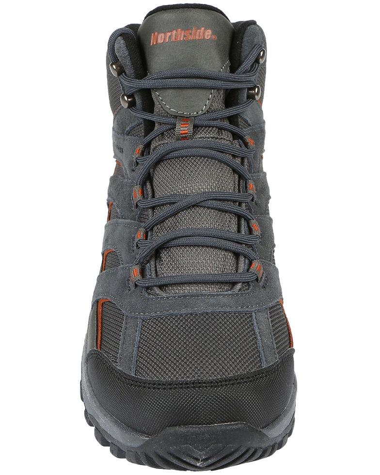 Northside Men's Gresham Waterproof Hiking Boots - Soft Toe, Charcoal, hi-res