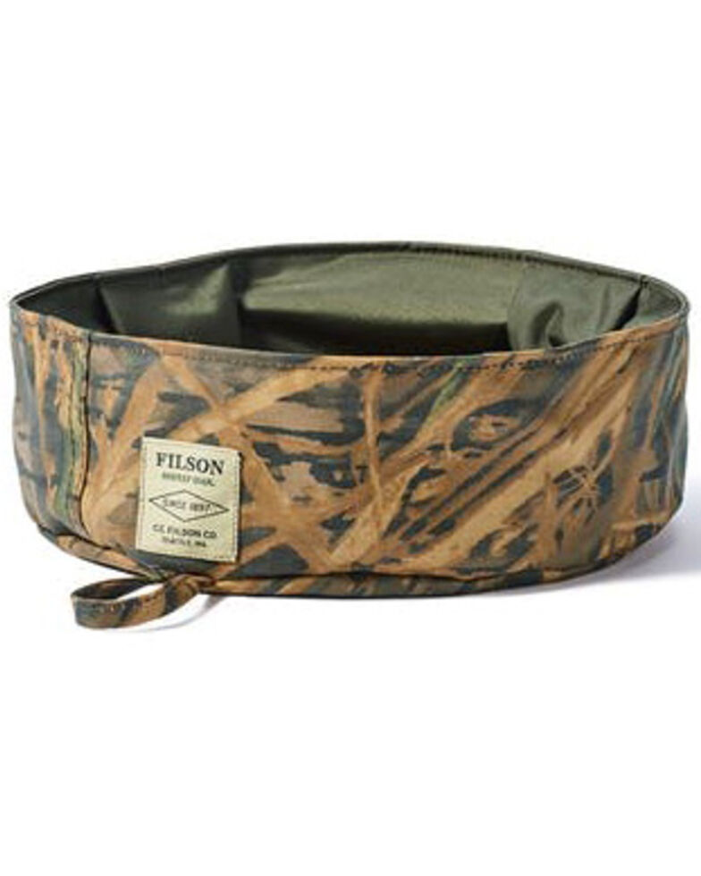 Filson x Mossy Oak Print Short Dog Bowl , Camouflage, hi-res