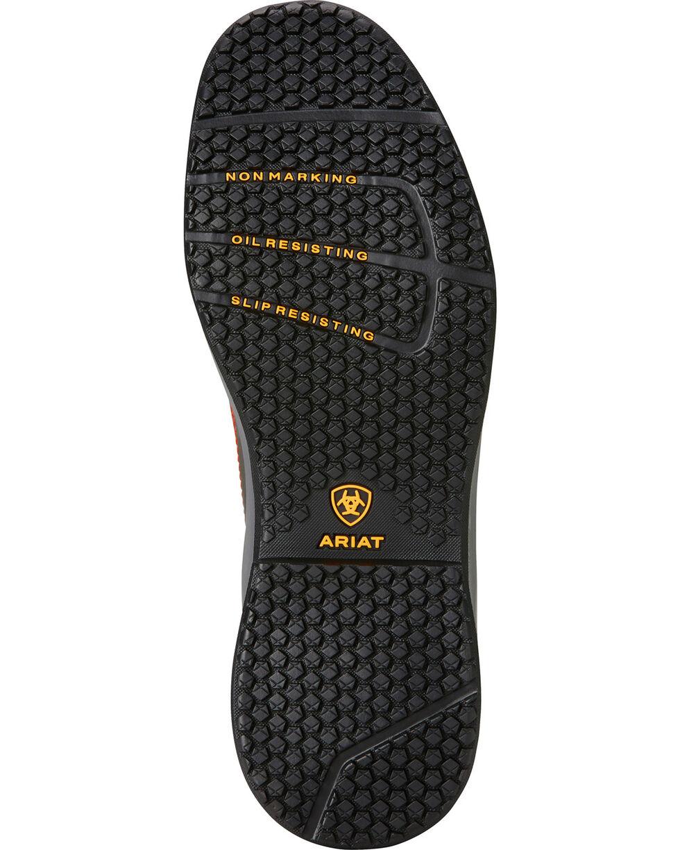 Ariat Men's Grey Contender Work Shoes - Soft Toe, Grey, hi-res
