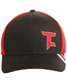 Tuf Cooper Men's Logo Trucker Cap , Black, hi-res