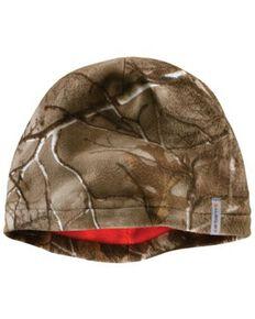 Carhartt Men's Force Swifton Camo Fleece Cap, Camouflage, hi-res
