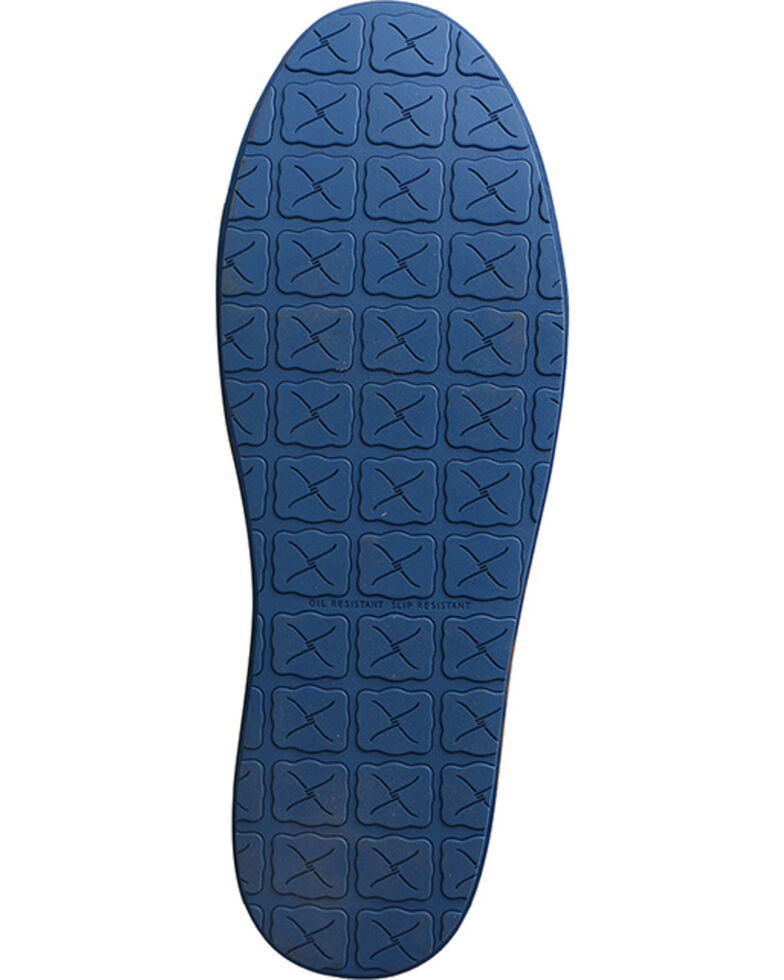Twisted X Men's HOOey Loper Shoes - Round Toe, Blue, hi-res