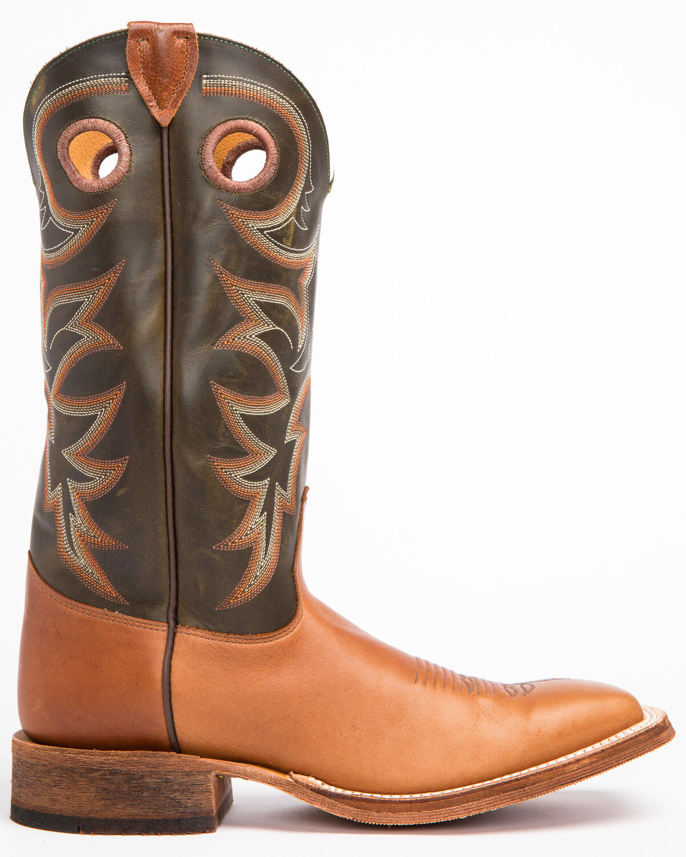 Bent Rail Cowboy Boots - Square Toe