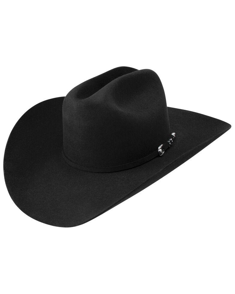 Resistol Men's Ox Box Western Hat, Black, hi-res