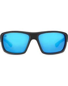 1915e9df6e3 Hobie Men s Cobalt Mirror and Satin Black Mojo Polarized Sunglasses