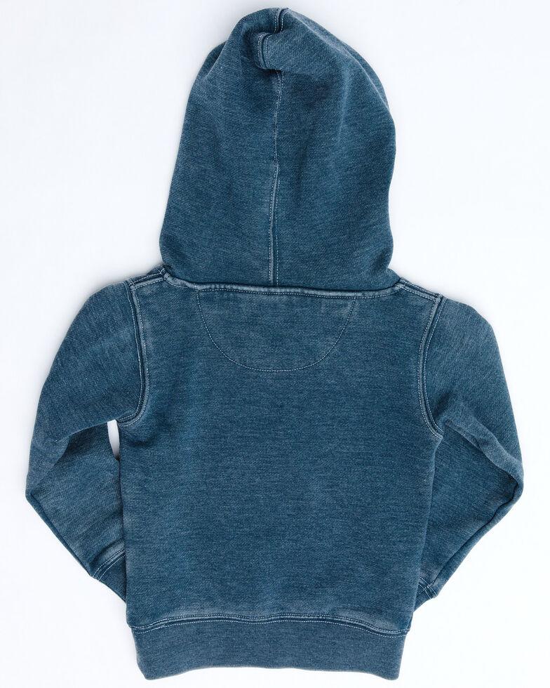 Cowboy Hardware Toddler Boys' Blue Lil Buckaroo Hooded Sweatshirt , Blue, hi-res