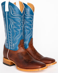 Cody James Men's Stockman Cowboy Boots - Wide Square Toe, Copper, hi-res