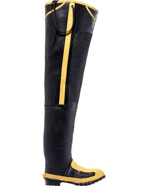 "Lacrosse Men's 32"" Met Guard Hip Boots - Steel Toe  , Black, hi-res"