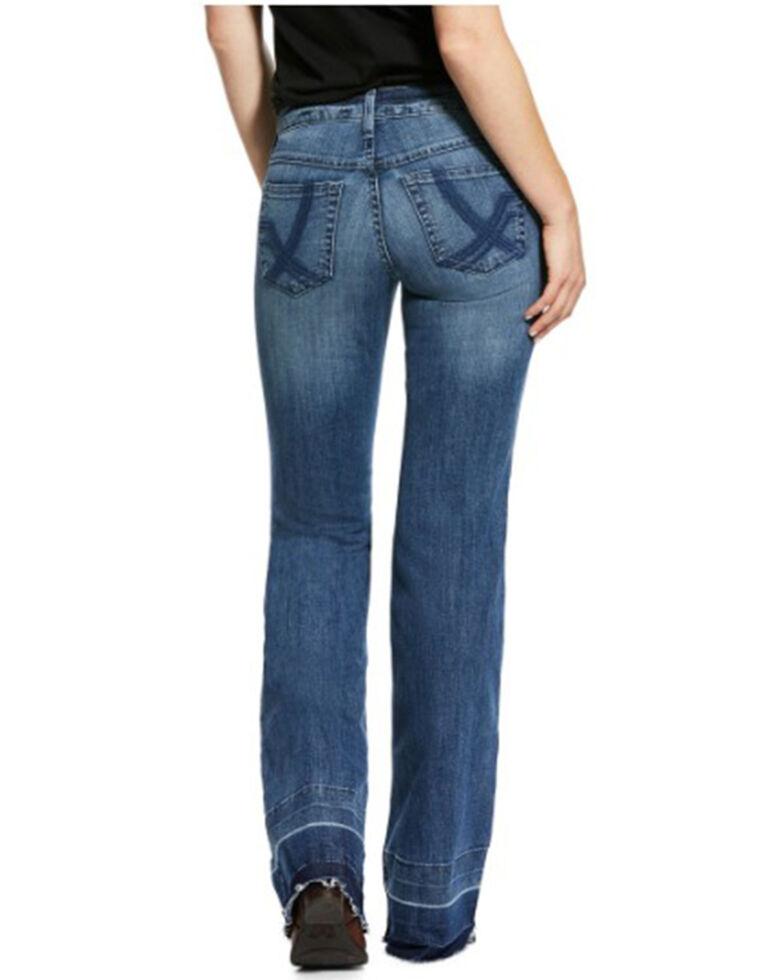 Ariat Women's Whitney Straight Leg Jeans, Blue, hi-res