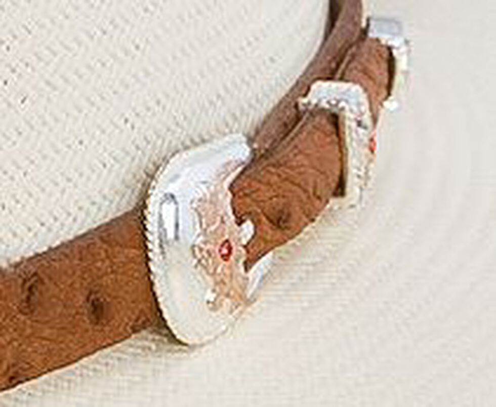 Stetson El Noble 500X Straw Cowboy Hat, Natural, hi-res