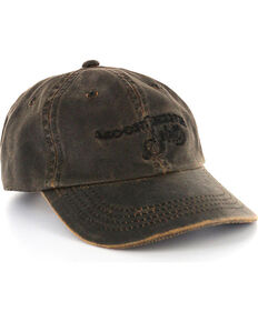 Moonshine Spirit Distressed Ball Cap, Brown, hi-res