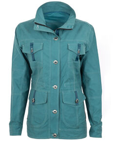 STS Ranchwear Women's Keyla Lightweight Jacket , Teal, hi-res