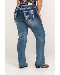 25258db36932d Grace In LA Women s Medium Straight Leg Jeans - Plus