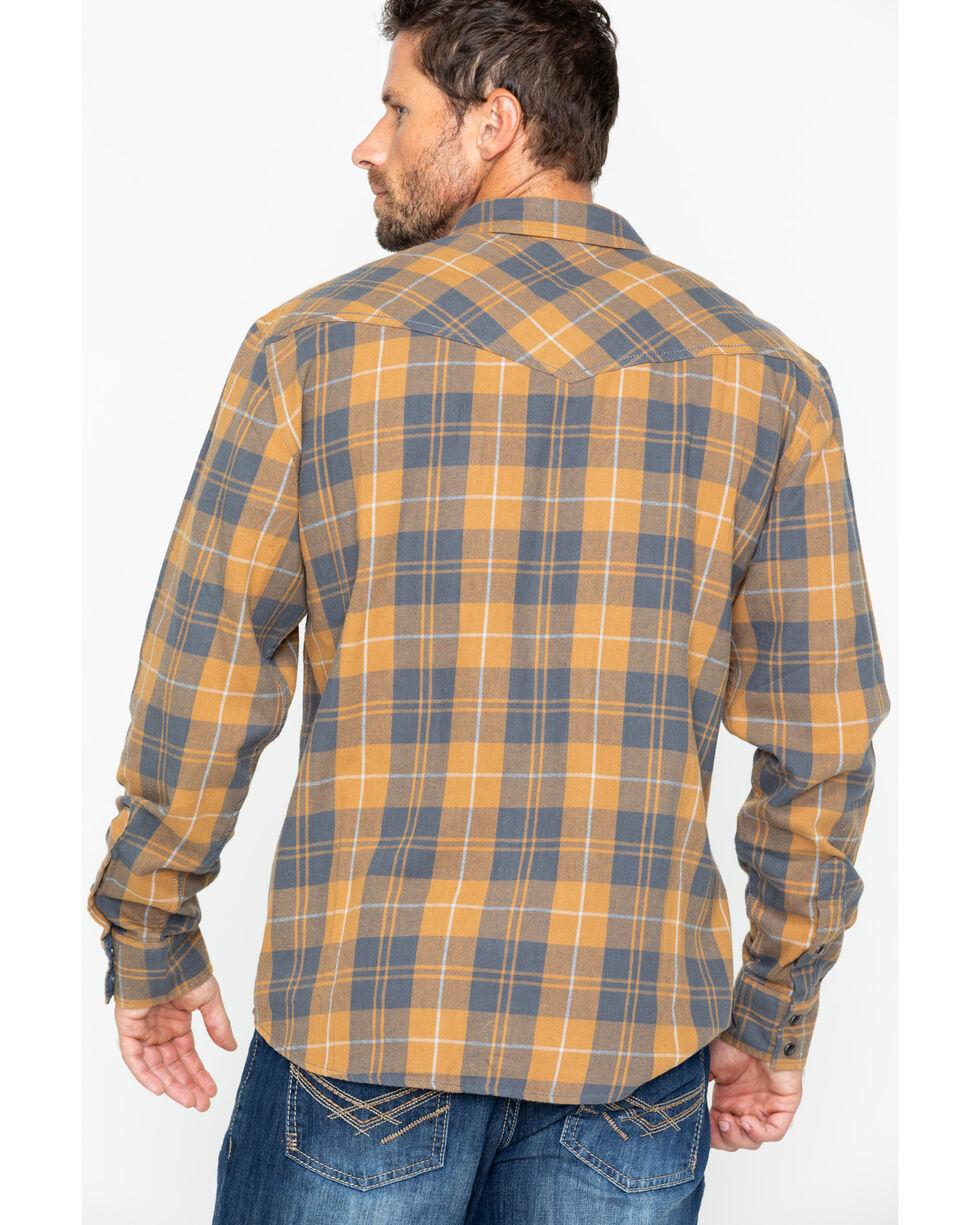 Cody James Men's Long Sleeve Cordova Flannel Shirt , Navy, hi-res