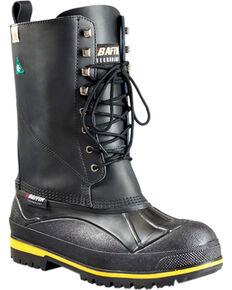 Baffin Men's Barrow -100GEL Polar Proven Boots - Steel Toe, Black, hi-res