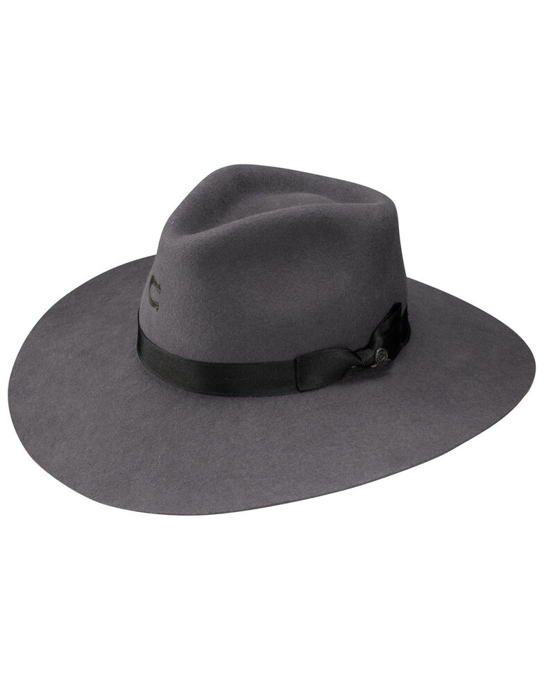 Charlie 1 Horse Women's Grey Highway Wool Hat, Grey, hi-res