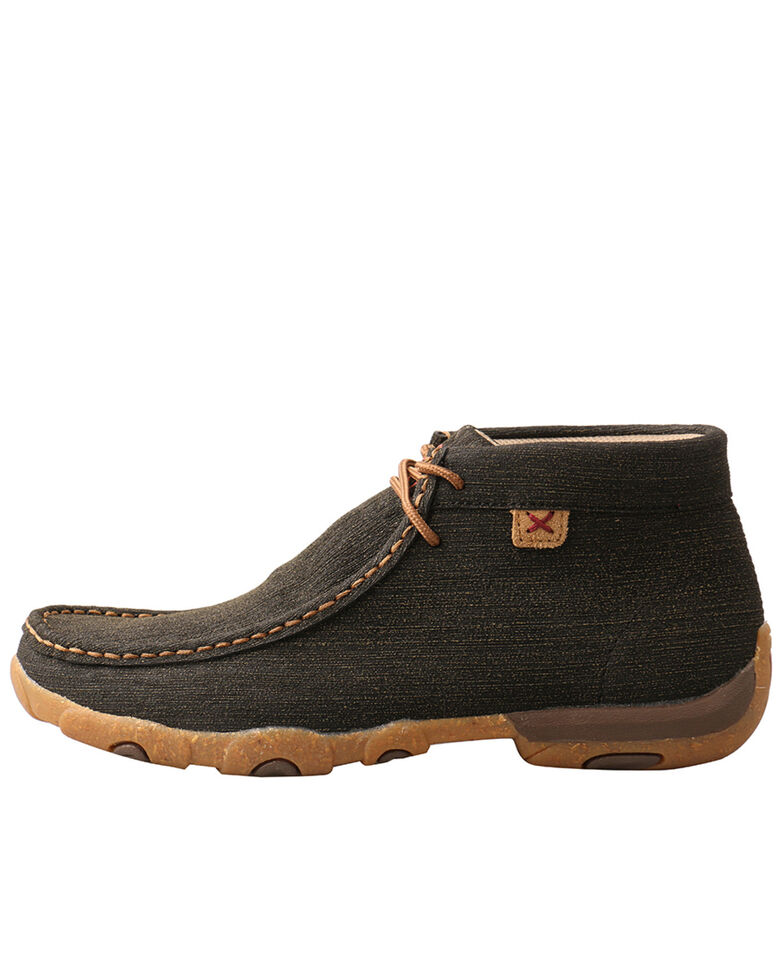 Twisted X Women's Brown Driving Shoes - Moc Toe, Brown, hi-res