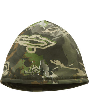 Under Armour Forest Scent Control Storm Fleece Beanie , Camouflage, hi-res