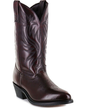 Cody James Men's Black Cherry Western Boots - Medium Toe, Black Cherry, hi-res
