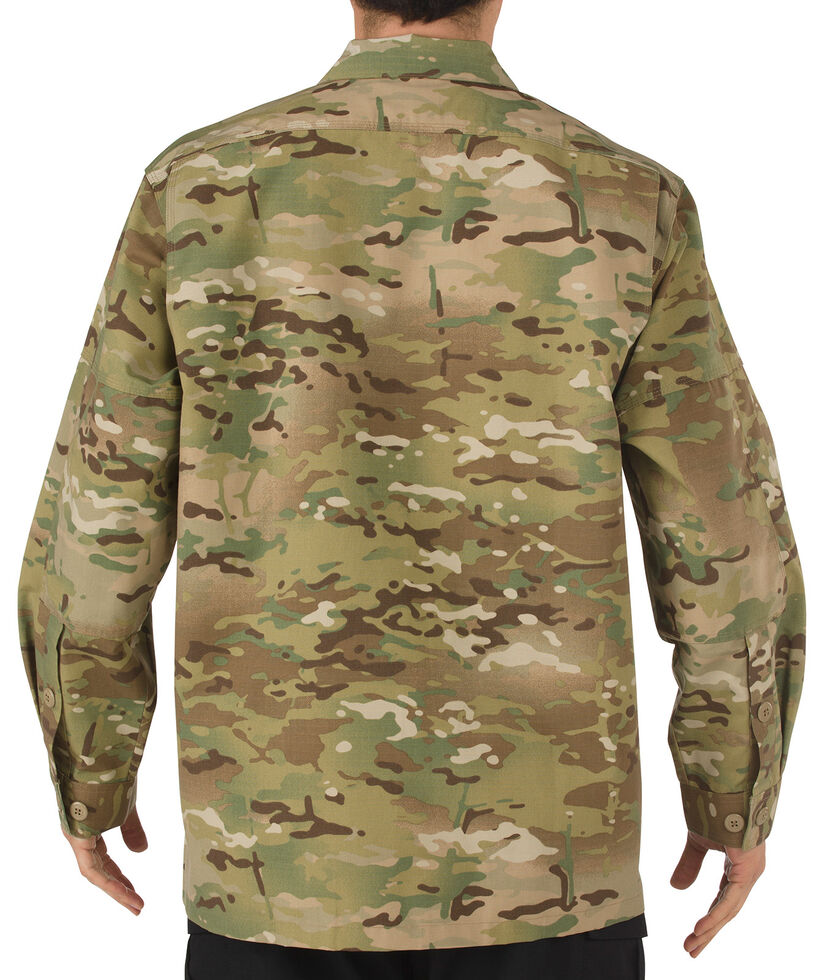 5.11 Tactical Multicam TDU Long Sleeve Shirt - 3XL and 4XL, Camouflage, hi-res
