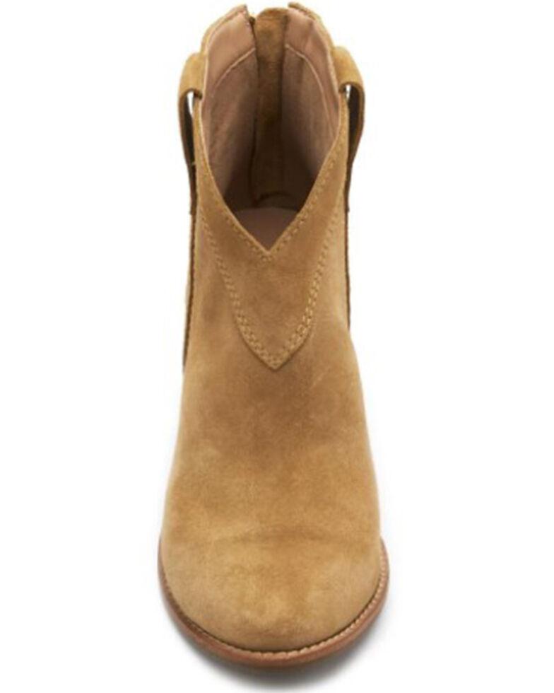 Matisse Women's Arrow Fashion Booties - Round Toe, Camel, hi-res