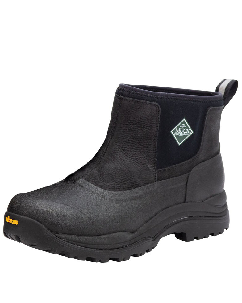 Muck Boots Men's Arctic Outpost Rubber Boots - Round Toe, Black, hi-res