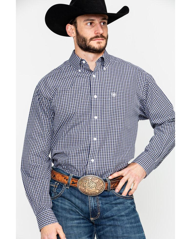 Ariat Men's Lancaster Plaid Long Sleeve Western Shirt , Multi, hi-res
