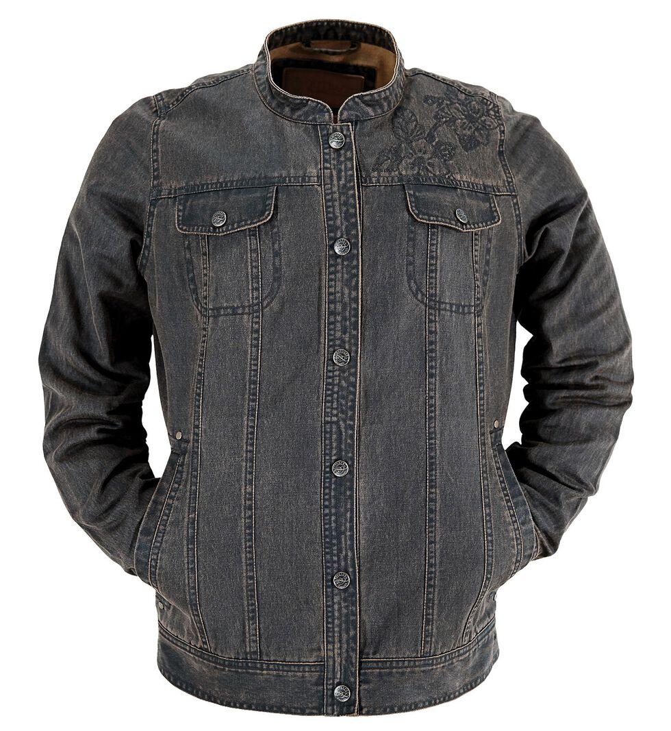 Outback Trading Company Canyonland Palusa Denim Jacket, Brown, hi-res