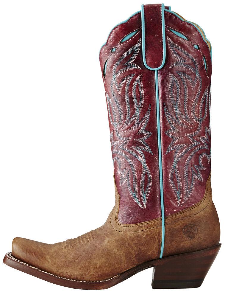 Ariat Women's Taupe Bristol Boots - Square Toe, Taupe, hi-res